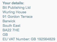 accounts billing vat invoices