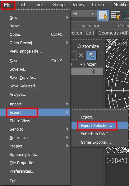 Studio | Exporting 3D Models for Studio
