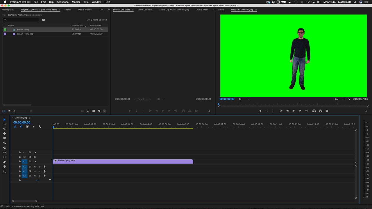 Studio | Preparing Alpha Video